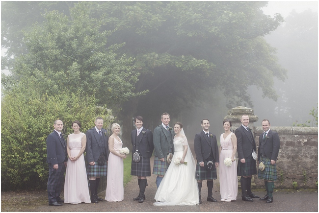 bridal party st andrews