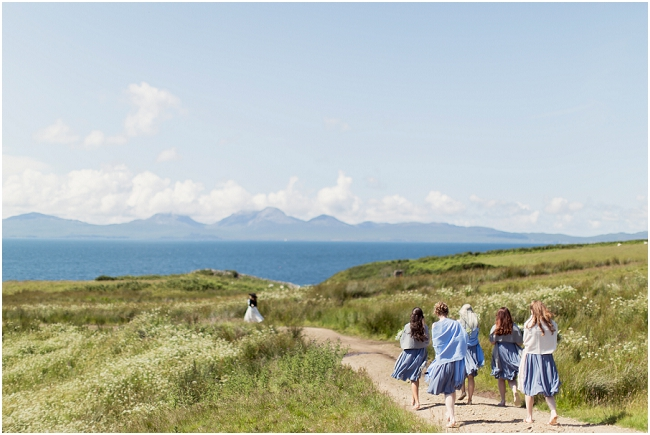 crear wedding beach scottish photography